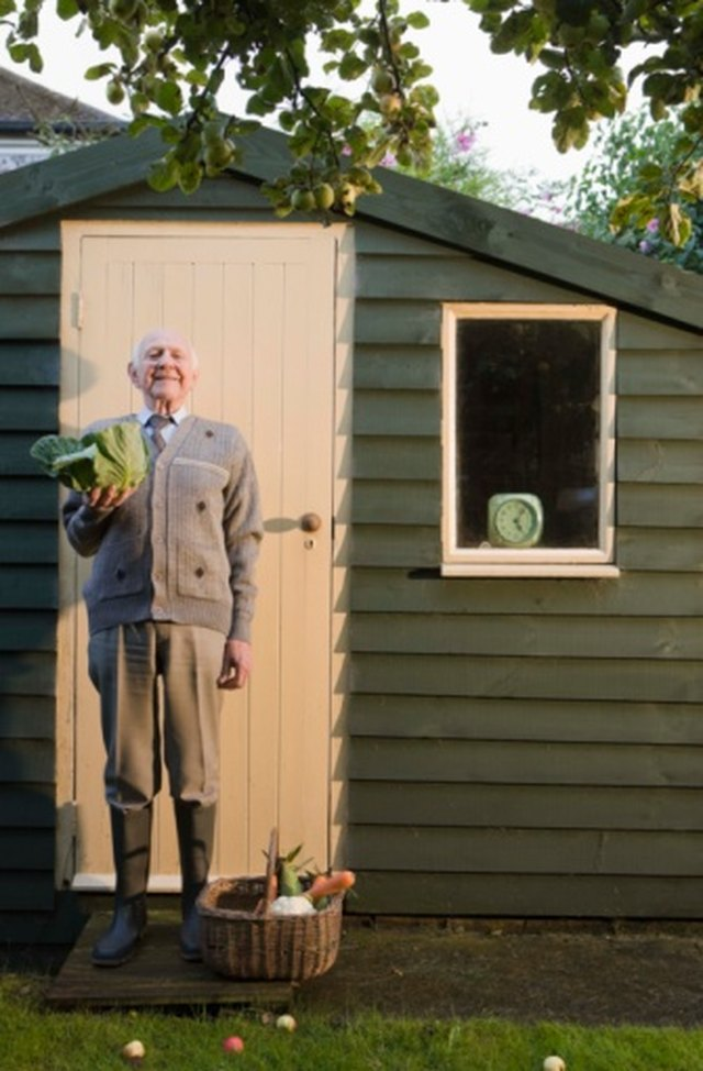 How to Construct a Plywood Shed Door | Hunker