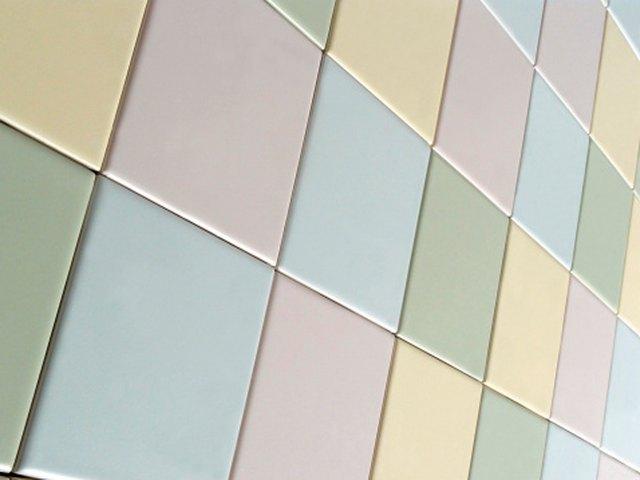 Colorful ceramic tiles.