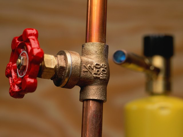 How to Clean Green Mold From Copper Pipes | Hunker
