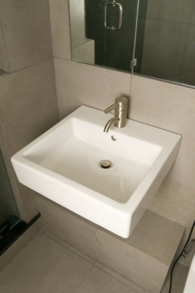 How To Get Rid Of A Smelly Bathroom Sink Drain Hunker