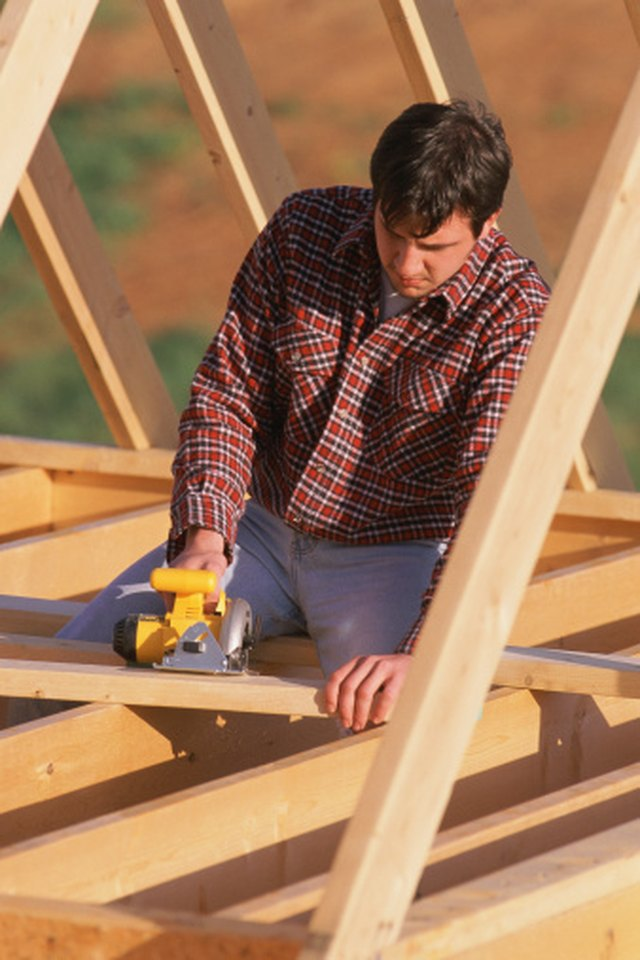 How To Connect Trusses To The Top Plate Hunker
