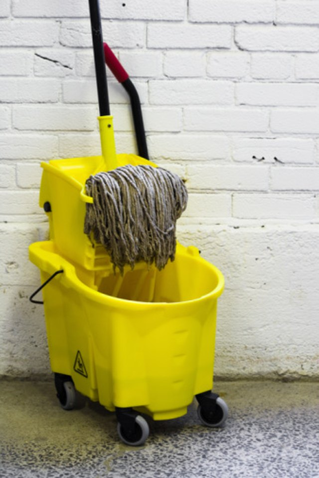 How To Use A Mop Bucket Wringer Hunker