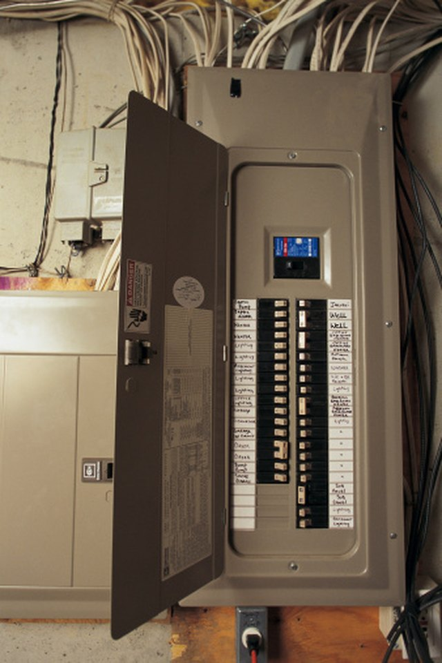 How To Install A 100 Amp Breaker Panel