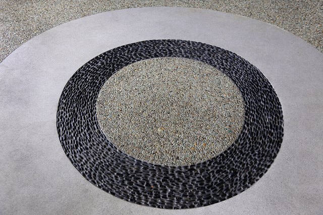 terrazzo floor texture background, Terrazzo Floor Pattern in Art Decor Style