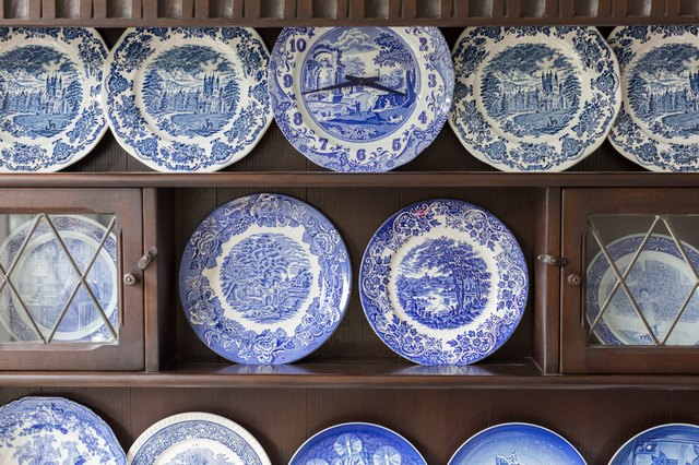 Beautiful plate collection