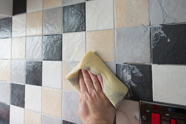 Wiping of Grout from New tiles