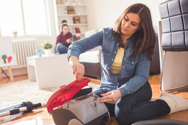 Repair wacuum cleaner at home