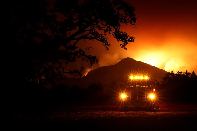 Multiple Wildfires Destroy Homes, Threaten California Wine Country
