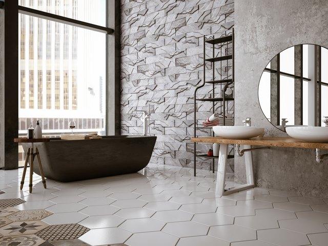 Comparison Of Ceramic Tile Vs Laminate Wood Flooring Hunker