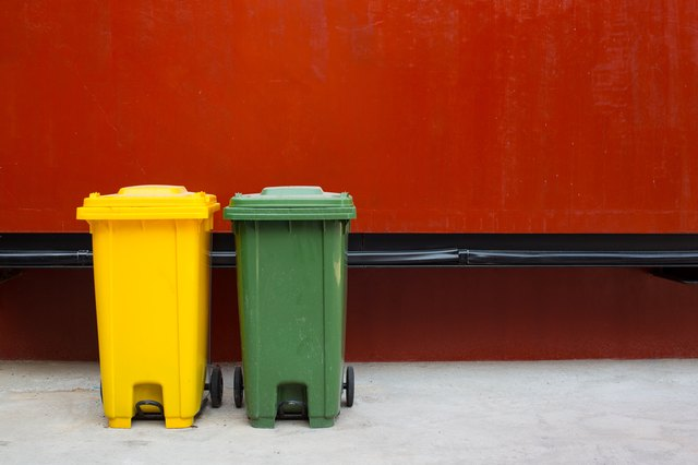 wheelie bins for rubbish, recycling and waste