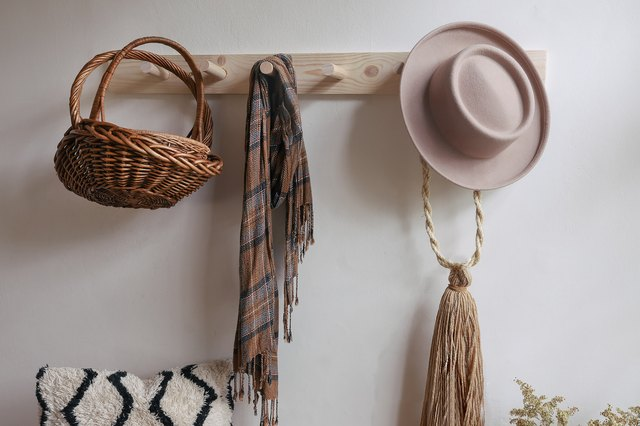 This DIY Peg Rail Is Perfect for Literally Every Home | Hunker