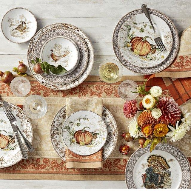 10 Thanksgiving Table Setting Ideas Under $30   Hunker