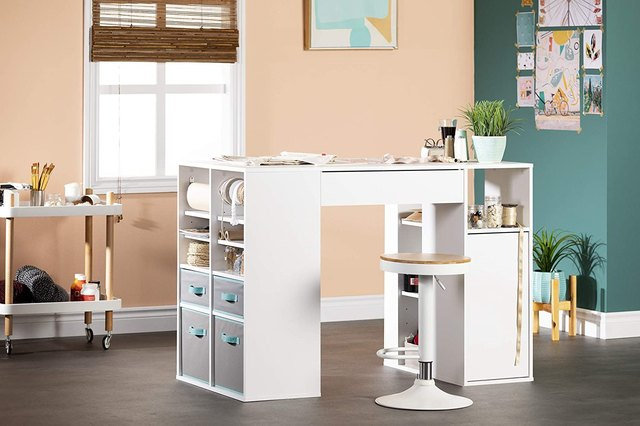 These Craft Tables With Storage Will Turn Your DIY Area Into a Maker's Paradise | Hunker
