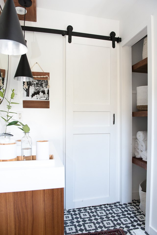 A Small Bathroom Door Is the Designer Trick You've Probably Never Considered, But Should | Hunker