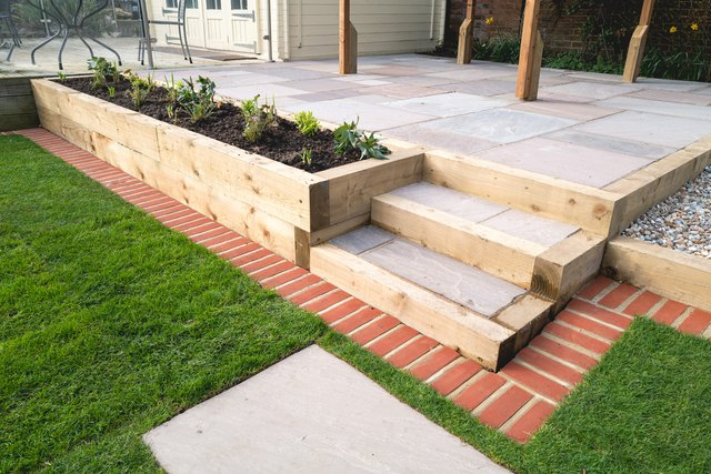 How to Install Brick Lawn and Landscape Edging   Hunker