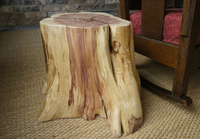 How To Create A Tree Stump Table Hunker