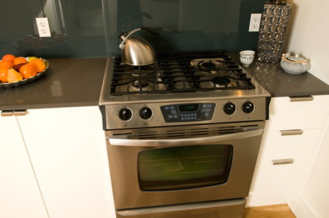 How to Change a White Stove to a Stainless Steel Look   Hunker