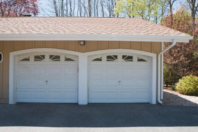 How to figure a garage door rough opening   Hunker