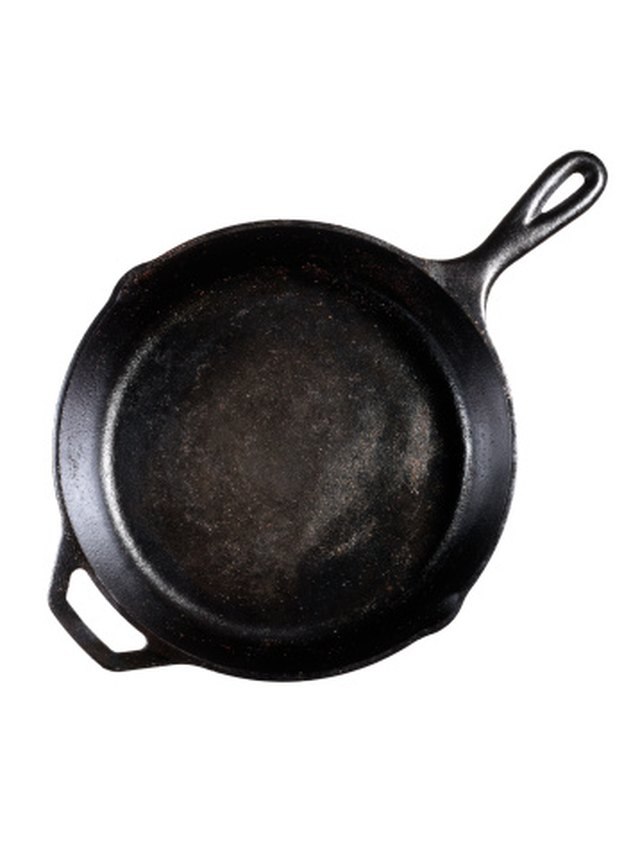 How to Remove White Calcium Deposits on Cast Iron Pans | Hunker