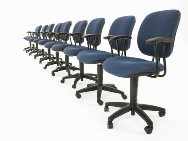 The Dimensions of Office Chairs | Hunker