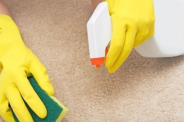 how to remove water stains from carpet hunker