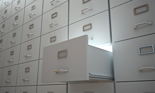 How To Paint A Metal File Cabinet Hunker