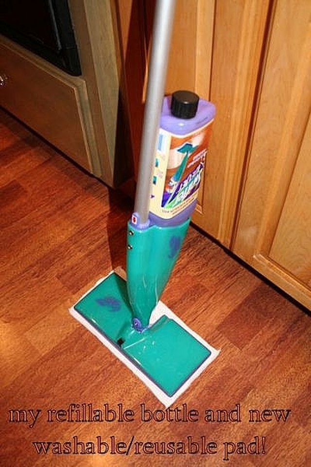 How To Make Your Own Non Rinse Mop Solutions Hunker