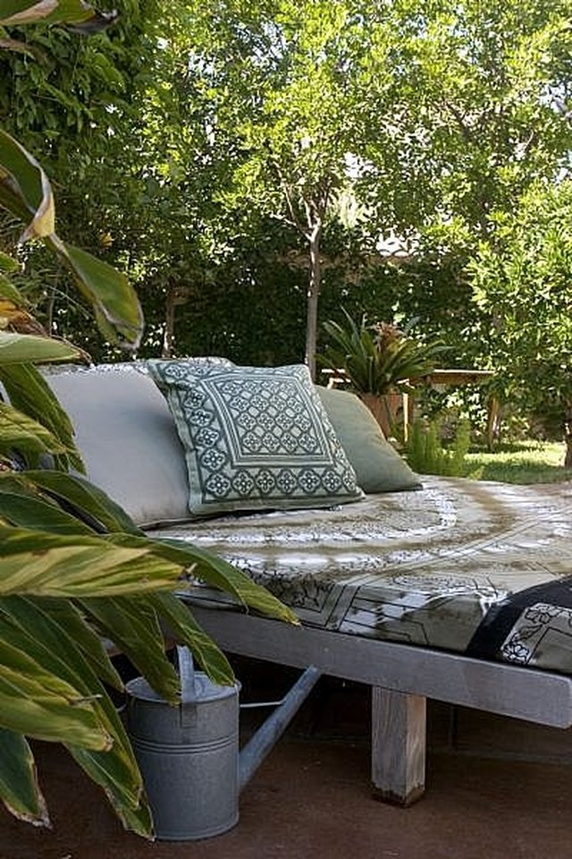 How To Create An Outdoor Lounge Bed Hunker