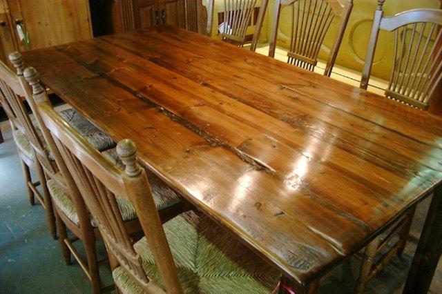 Polish Wood Furniture With Steel Wool .