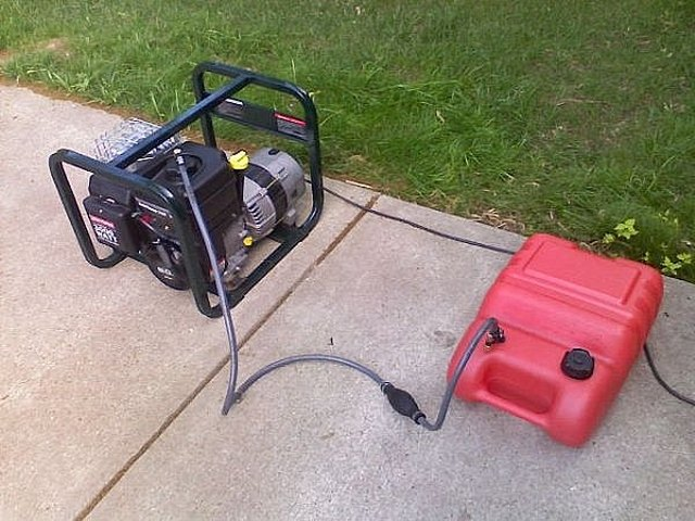 How To Add An Aux Fuel Tank To A Generator Hunker