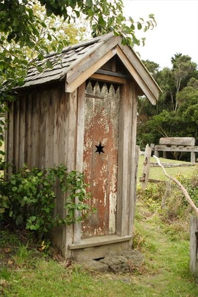 An Outhouse Work X