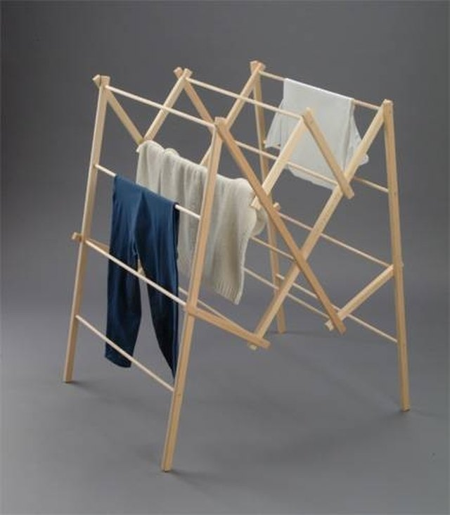 How to Make a Clothes Drying Rack | Hunker