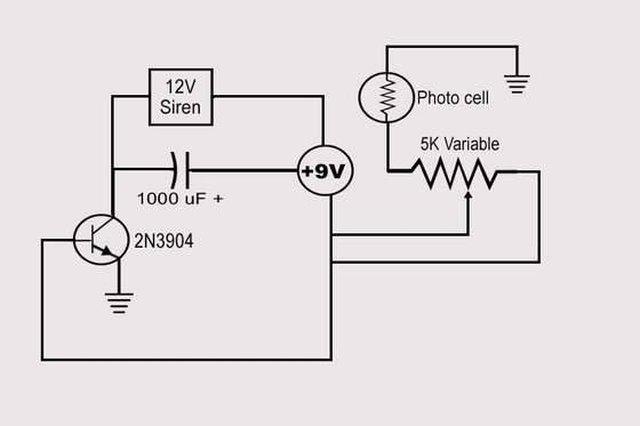 how to make a laser alarm