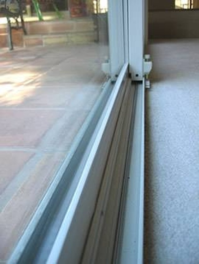 How To Clean Sliding Door Tracks Hunker