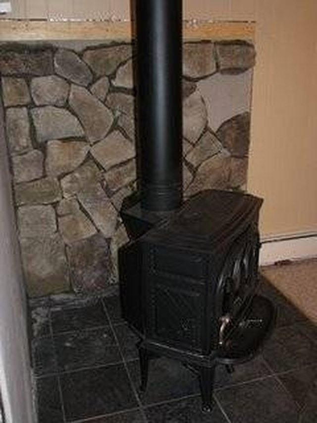 About Wood Stove Surrounds Hunker