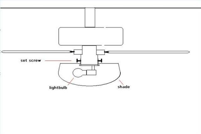 How To Replace A Dead Light Bulb In A Hampton Bay Ceiling Fan Hunker