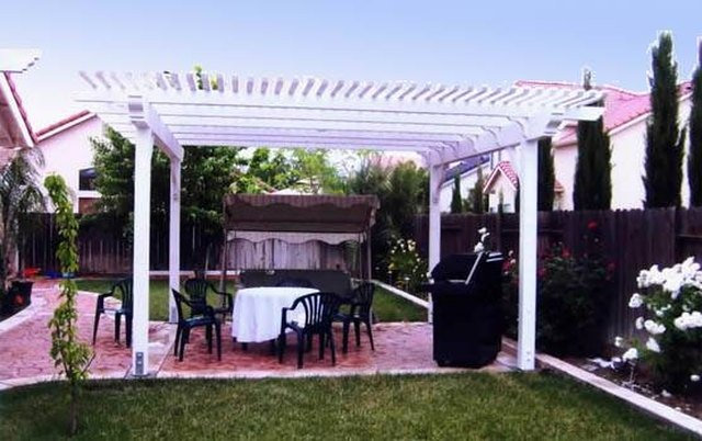 How To Build A Detached Patio Cover Hunker