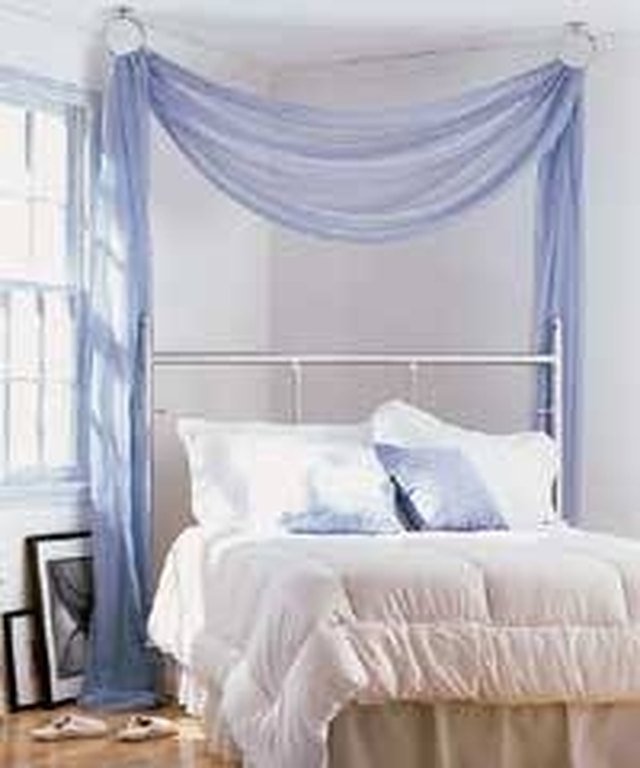 How To Make A Hanging Bed Canopy
