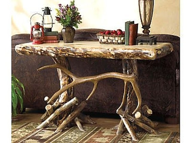 How To Make A Handmade Rustic Coffee Table | Hunker