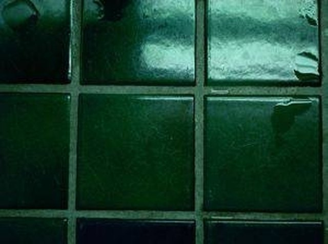How to clean shower tile grout hunker - How to clean bathroom tile grout ...