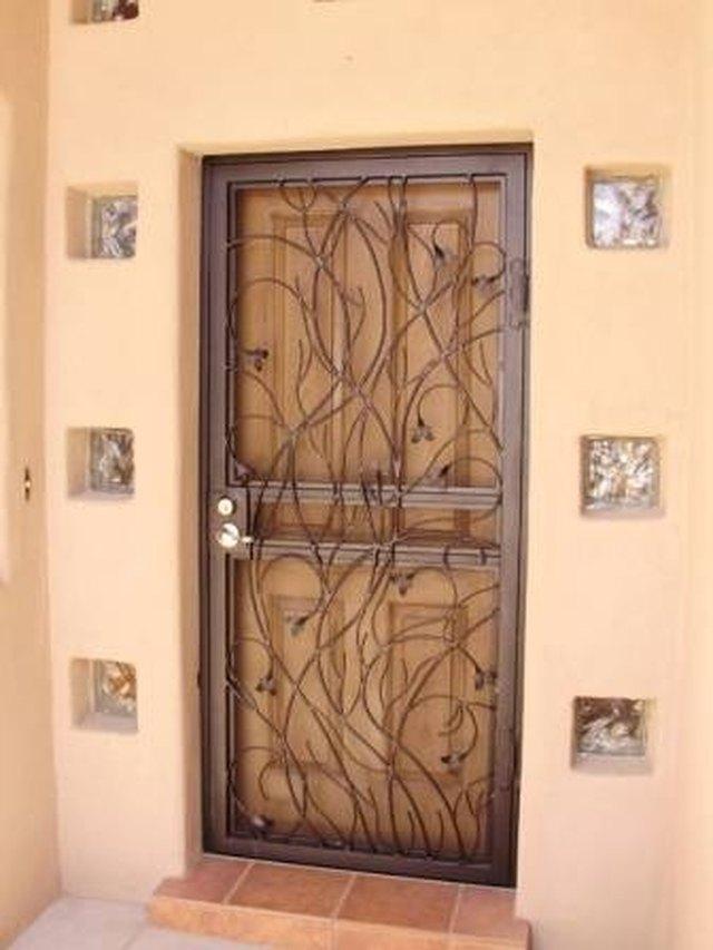 How To Install Metal Security Screen Doors Hunker