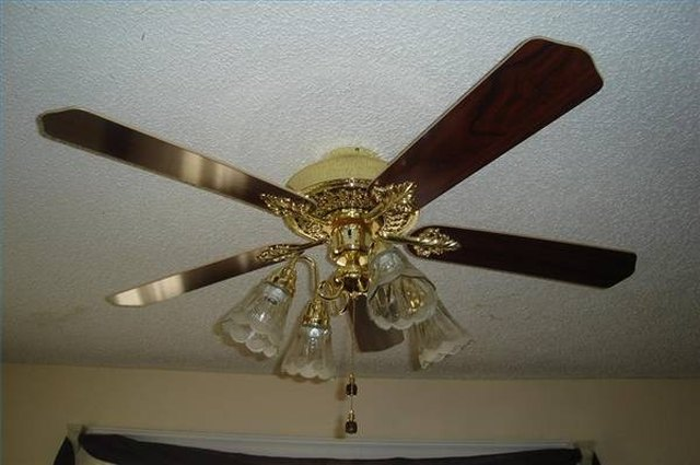 How To Install A Flush Mount Ceiling Fan Hunker