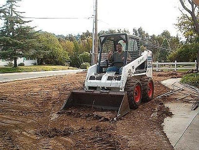 How To Grade Soil Using A Bobcat Or Back Hoe Hunker