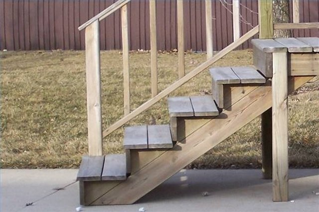 Making Wooden Steps