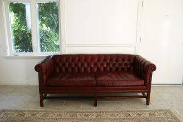How to Remove Sweat Stains from a Leather Sofa | Hunker