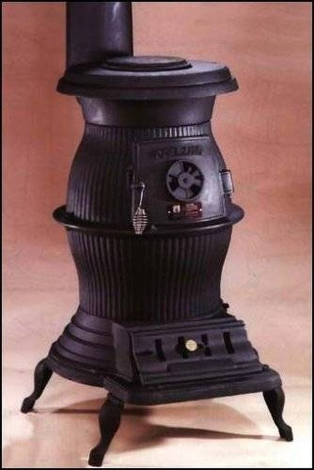 How To Refinish A Cast Iron Pot Belly Stove Hunker