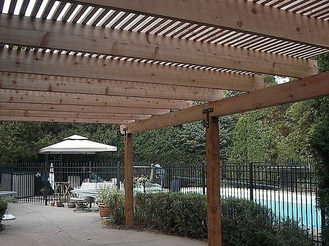 How To Build A Shade Pergola Or Arbor Hunker