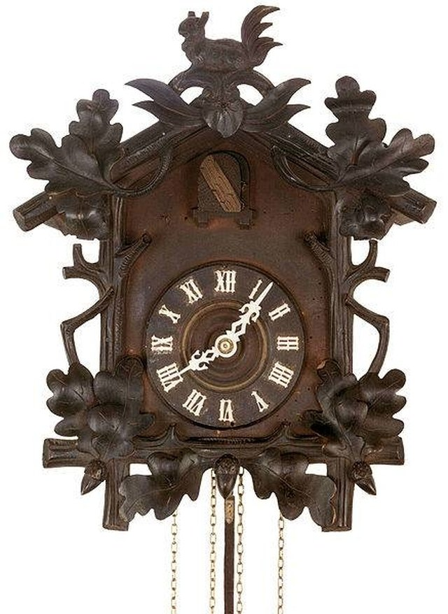 how to hang a cuckoo clock hunker