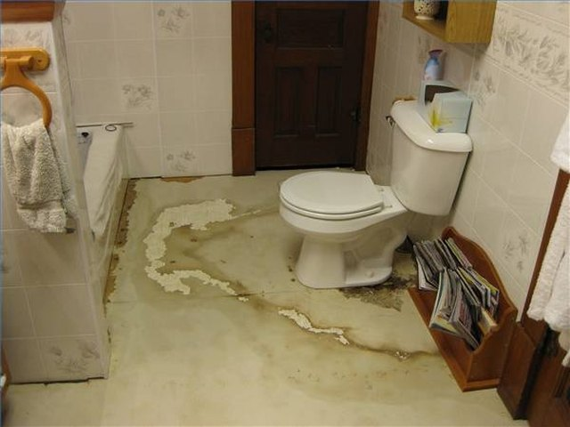 How To Replace A Rotting Bathroom Floor Hunker