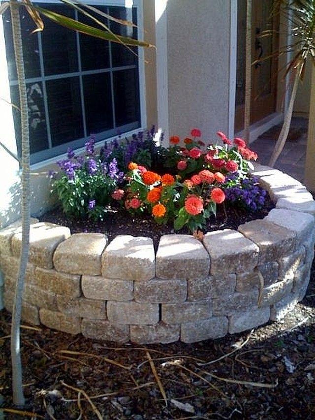 Raised Garden Bench